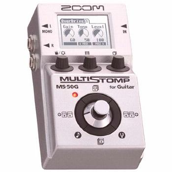 Zoom MS-50G MultiStomp Guitar Pedal Zoom MS-50G MultiStomp Guitar Pedal Zoom MS-50G MultiStomp Guit