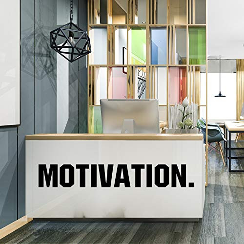 4 Pieces Gym Wall Decal Motivation Vinyl Wall Decals Be